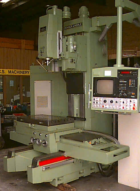 Boko WF1/6 5 Axis Milling Machine