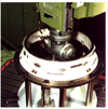 Right angle head on Boko Milling Machine